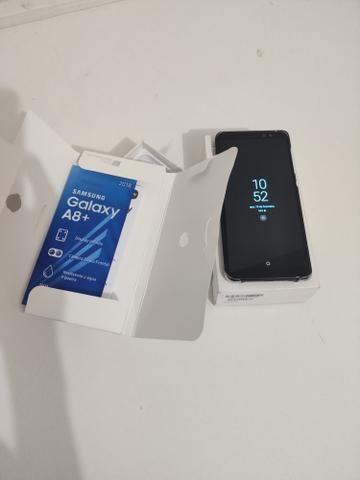 Vendo Galaxy A8+ 2018 ou Troco em computador - Foto 4