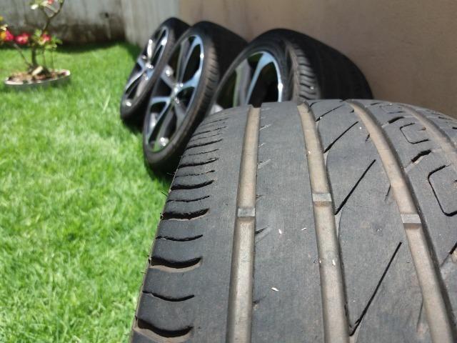 """Vendo rodas e pneus aro 17"""""""