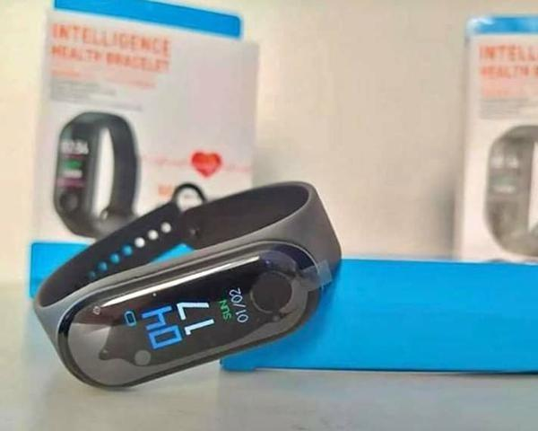 Relógio M3 Inteligente Medidor De Pressão Arterial A pronta entrega