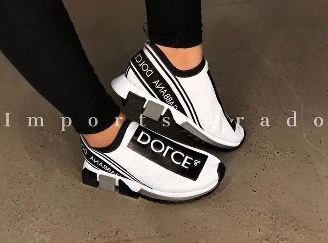 ?Tênis Dolce&Gabbana Sorrento do 34 ao 43 ??. 299,90 / 350,00 em até 5x - Foto 2