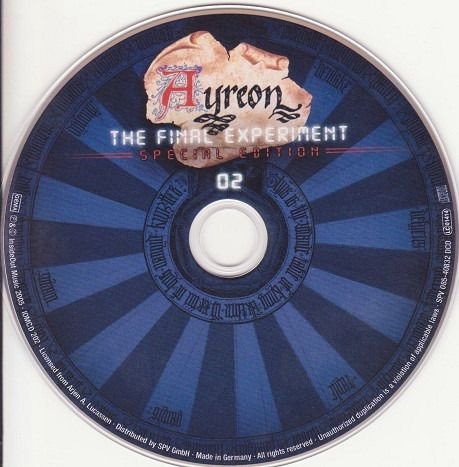 Ayreon - The Final Experiment 02 CDs - Foto 6
