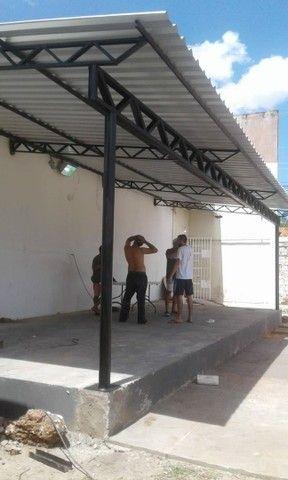 Cobertura de telhas galvanizadas l - Foto 4