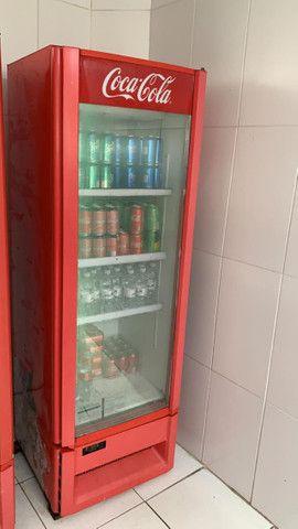 Geladeira Coca-Cola