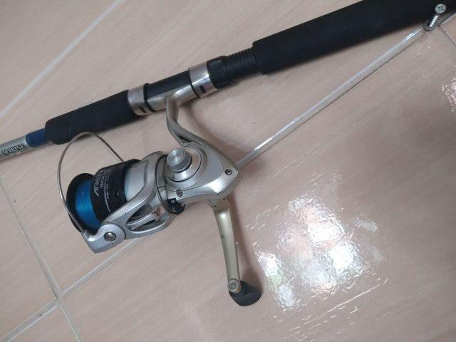Vara de pesca 100$ - Foto 2