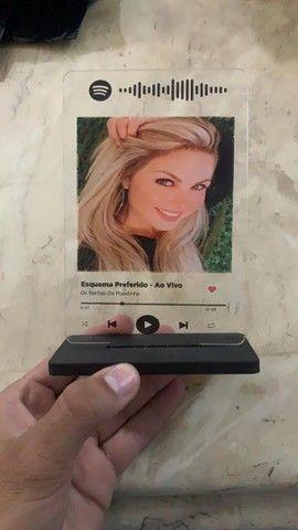Plaquinhas Spotify acrílico  - Foto 2