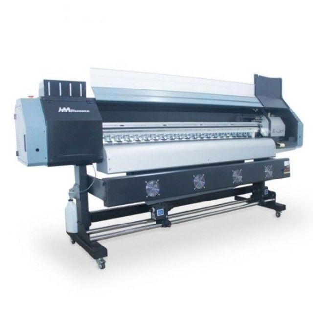 Impressora plotter solvente 1,80m Ejet E-jet DX5
