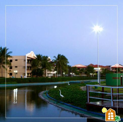 Apto temporada Aquaville 2 suites, próximo Beach Park no Porto das Dunas - Foto 14