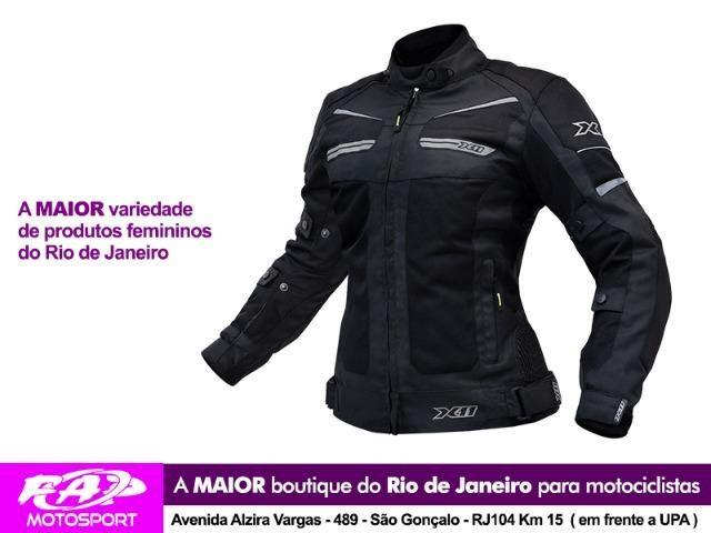 e10b57802 Jaqueta Moto X11 Breeze Feminina Ventilada Preta - Peças e ...