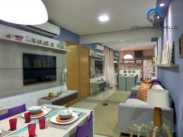 Apartamento no Eusébio com 2 quartos e 1 vaga