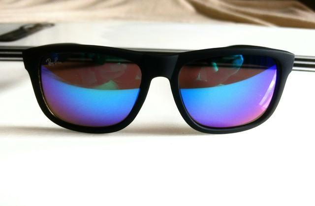 oculos ray ban justin azul