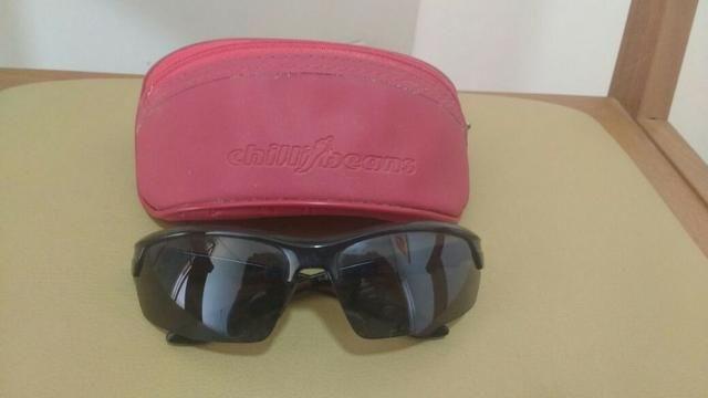 Óculos Chillibeans - modelo esportivo + bolsinha