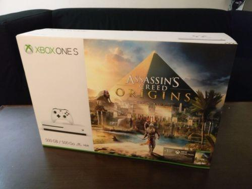 Xbox One 500GB com Assasins Creed Origens - aceitamos video games como parte do pagamento
