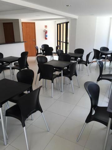 Apt 94 m², nascente, Jatiúca, 3 quartos, 2 vagas, decorado, lazer completo, só 500 mil! - Foto 11