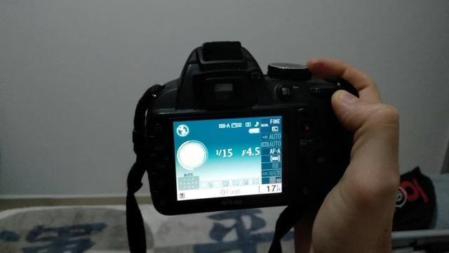Câmera fotográfica Nikon D3100 - Foto 3