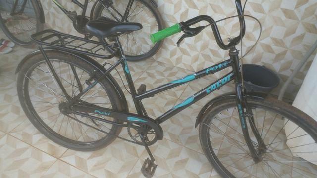 Vendo essa bicicleta ta tudo novo so hj - Foto 4
