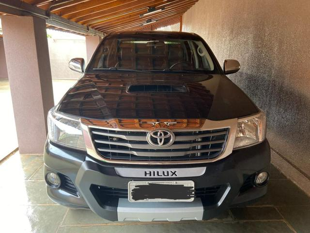 Hilux srv 2013/2013 preta diesel 85.100 km impecável sem detalhes 4 pneus bfgoodrich zero