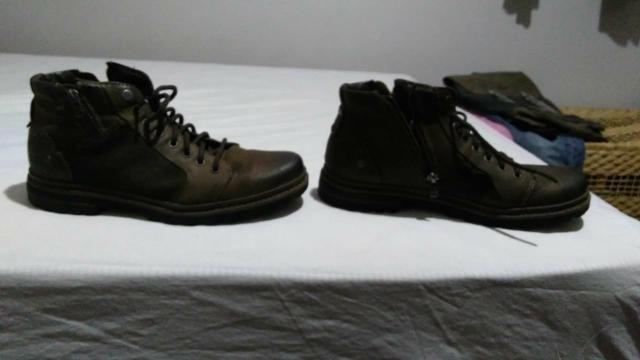 Dois pares de botinha masculina - Foto 2