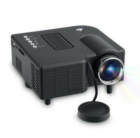 Mini projetor 80 polegadas videos fotos - Barato