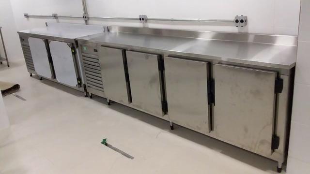 Balção Refrigerado Ar Forçado 100% Inox - Foto 3