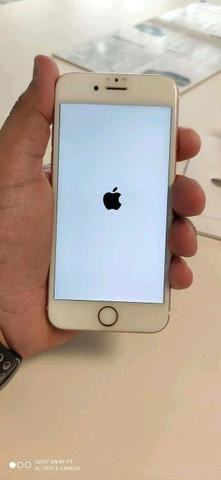 Vendo iphone 6s 128gb carregador aceito trocas - Foto 3
