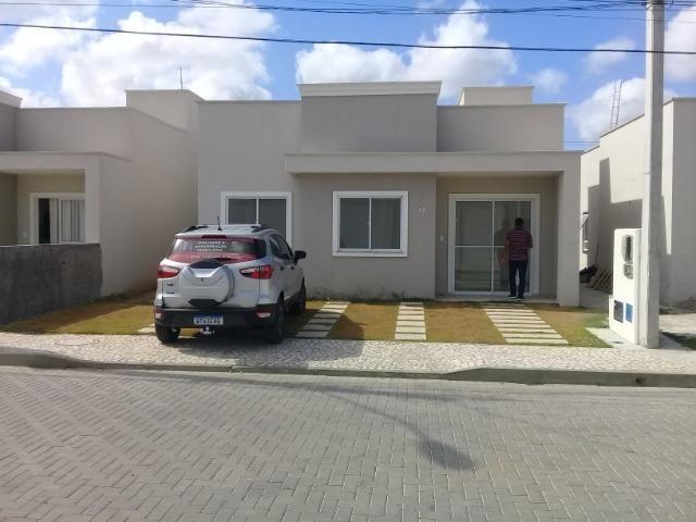 Maravilhosa casa de 3/4 em condomínio fechado no bairro do sim - Foto 4