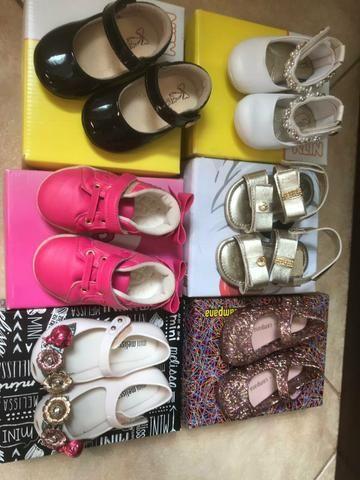 Lote sapatos Melissas Número 18 - Foto 3