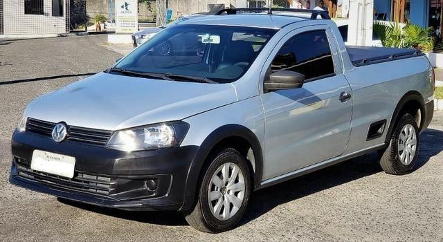 Volkswagen Saveiro Trend 1.6, 2014/2014, conservado!