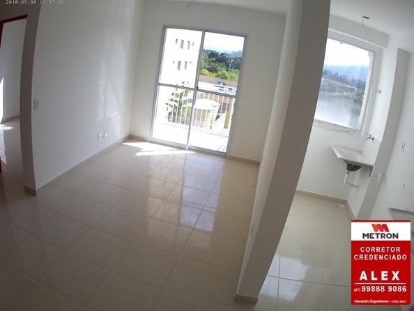 ALX - 18 - Mude para Morada de Laranjeiras - Apartamento de 2 Quartos com Varanda - Foto 7
