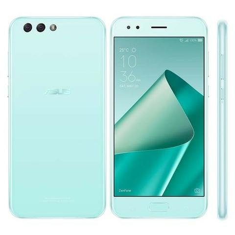 "Smartphone Asus Zenfone 4 ZE554KL, 64GB, 5.5"", Dual Chip, 4G, Android Verde Agua"