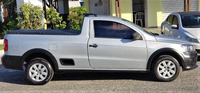 Volkswagen Saveiro Trend 1.6, 2014/2014, conservado! - Foto 7