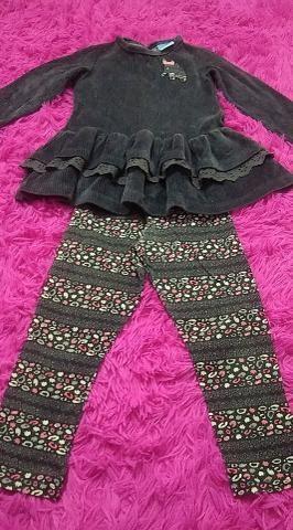 Conjunto infantil calça e blusa - Foto 3