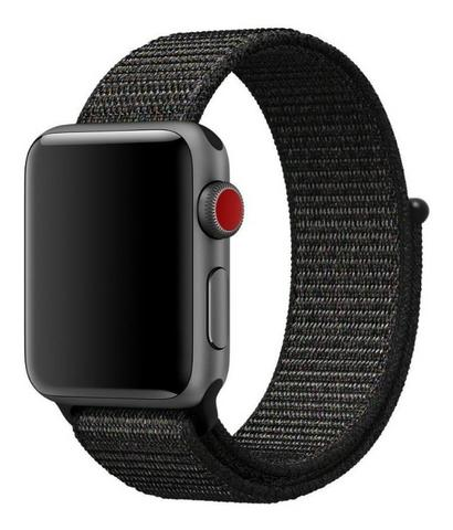 Vendo Pulseira para Apple Watch, 38 mm, Nylon Preta
