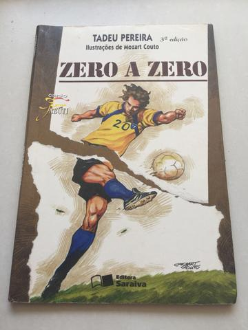 "Livro Paradidático ""Zero a zero"""