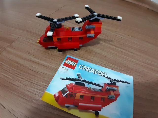 Helicóptero Lego - Foto 2