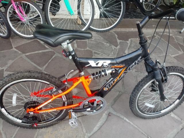 Bicicleta aro 20 com Suspensão ( Produto Semi Novo ) - Foto 5