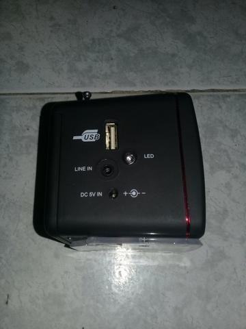 Vendo esta caixinha de som D-909 - Foto 2