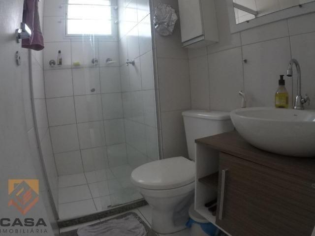 FM - Excelente apartamento 2 quartos térreo com fechamento de varanda - Praia da Baleia - Foto 4