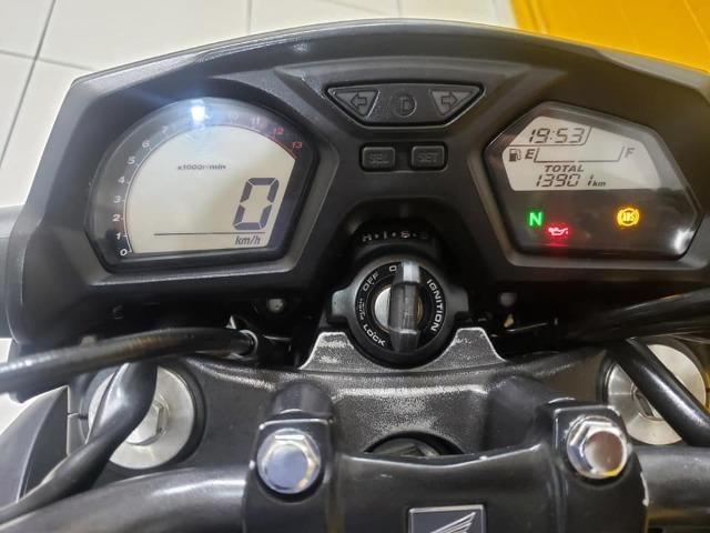Honda Cb 650 F 2015- Preta - km 14.000 - Foto 10