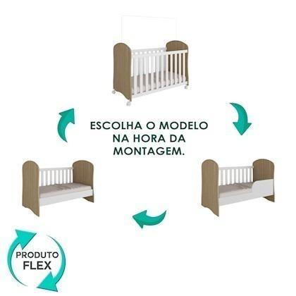 Berço Sonho - Móveis Peróba 100% MDF Promoção (Novo) - Foto 4