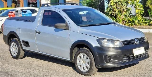 Volkswagen Saveiro Trend 1.6, 2014/2014, conservado! - Foto 2