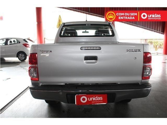 Toyota Hilux 2.7 std 4x4 cd 16v flex 4p manual - Foto 6