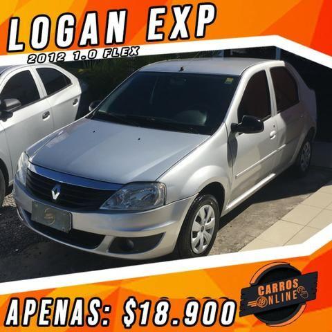 Logan EXP 1.0 2012 - Não é de leilão não é sinistrado!!