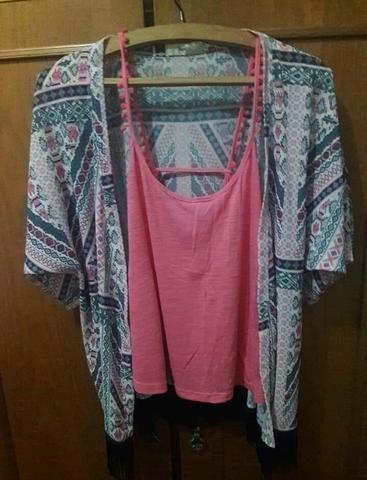 Kimono e blusinhas