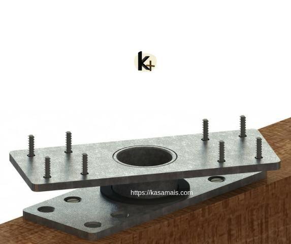 Kit para montagem de painel giratório em móveis - Foto 2