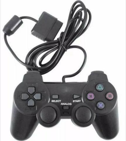 dedafcc50 Manete Controle Joystick Playstation Analogica Vibra Ps2 Ps1 ...