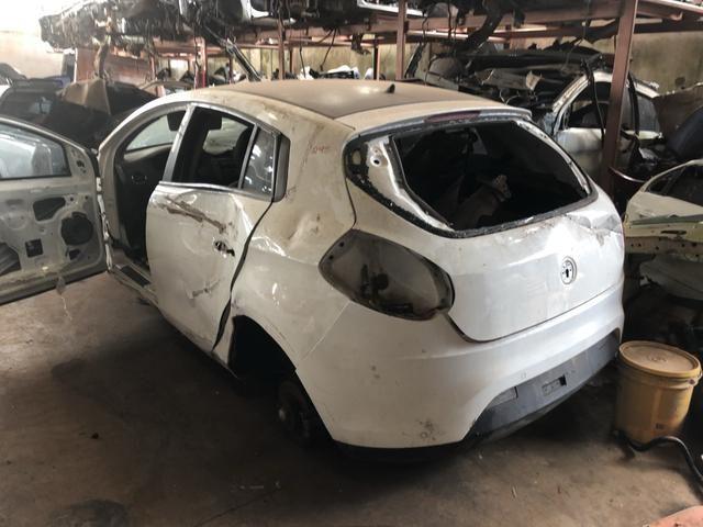 Sucata peças Fiat bravo