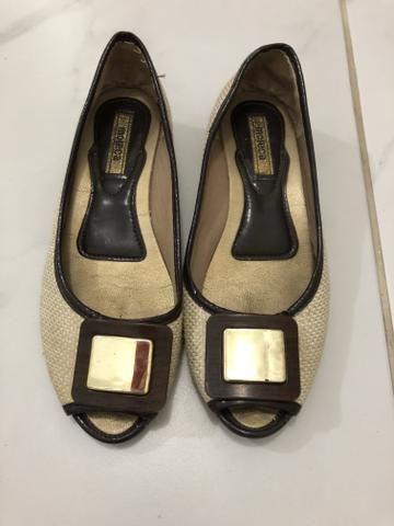 3792a36b2b Sapatilha peep toe moleca - Roupas e calçados - Vila Mimosa ...
