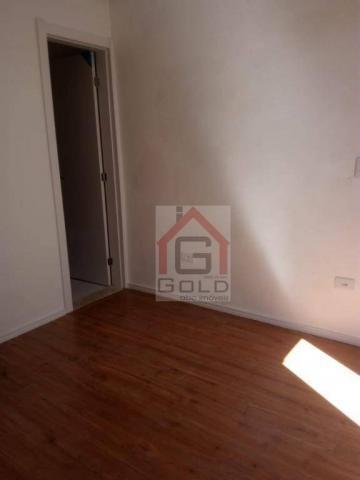 Apartamento com 2 dormitórios à venda, 55 m² por R$ 320.000 - Utinga - Santo André/SP - Foto 3