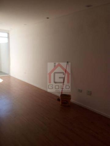 Apartamento com 2 dormitórios à venda, 55 m² por R$ 320.000 - Utinga - Santo André/SP - Foto 4