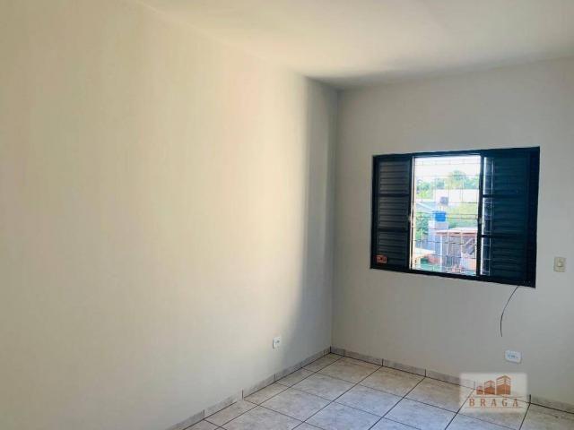 Apartamento com 3 dormitórios para alugar, 70 m² por R$ 950/mês - Centro - Navirai/MS - Foto 11